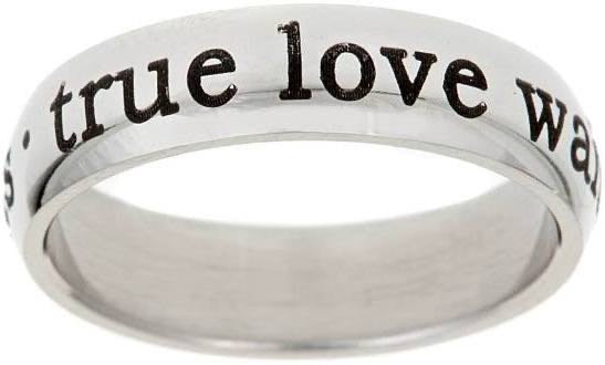 """True Love Waits""  Promise Ring"
