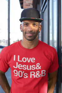 JESUS AND 90S R&B (RED)