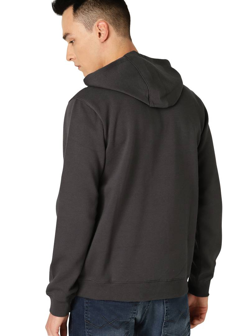 Full Sleeve BULLET Print Hooded Sweatshirt For Mens