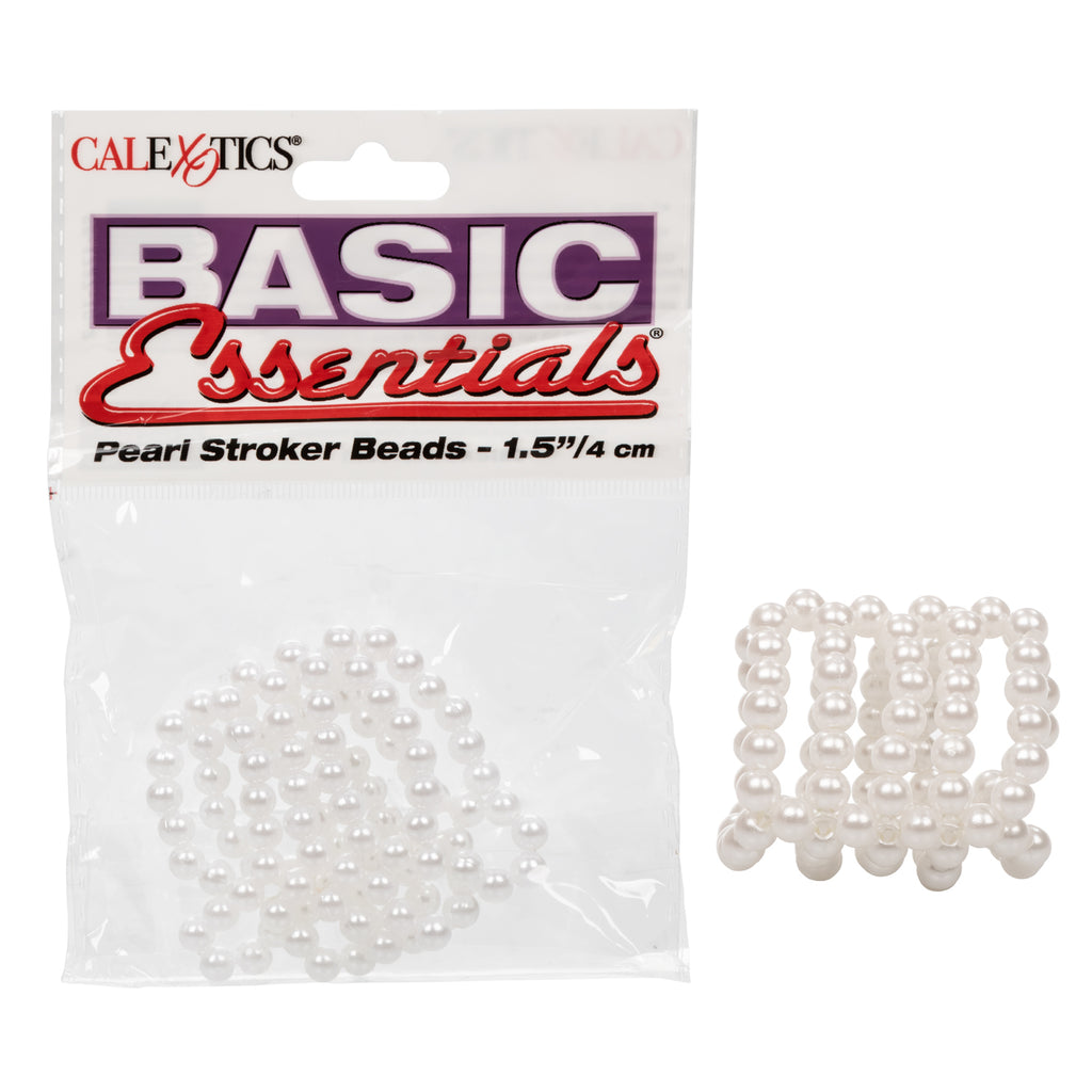 Basic Essentials Pearl Stroker Beads - 1.5