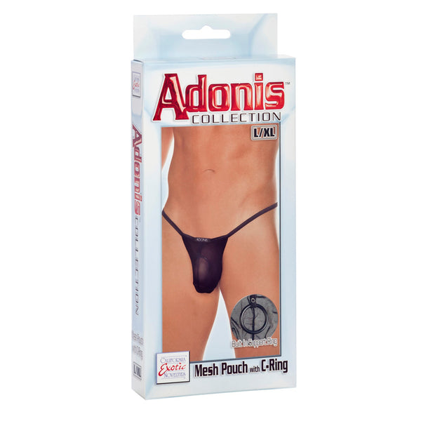 Adonis Mesh Pouch with C-Ring - L/XL