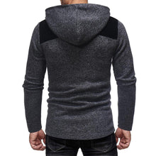 Load image into Gallery viewer, Fashion Mens  Split Joint Winter Zipper Coat