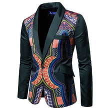 Load image into Gallery viewer, Men's Culture Style Floral Blazer