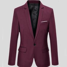 Load image into Gallery viewer, Slim Fit A Button Coat Small Coat