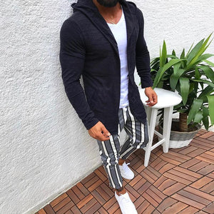 Fashion Long Sleeve Hooded Cardigan Sweaters
