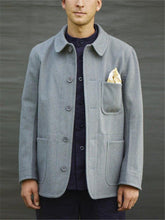 Load image into Gallery viewer, Men's Solid Color Wool Jacket