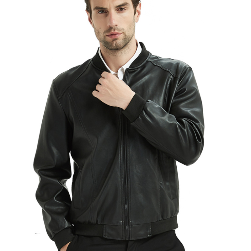 New Fashion Wild Men's Leather Jacket