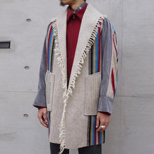 Load image into Gallery viewer, New fashion retro long coat