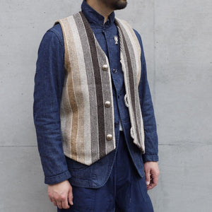 Autumn and winter retro vest