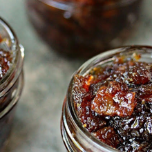 Load image into Gallery viewer, Maple Bourbon Bacon Jam ~ 4 or 8 ounce mason jar