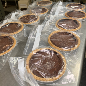 Julie's intense flourless chocolate pie