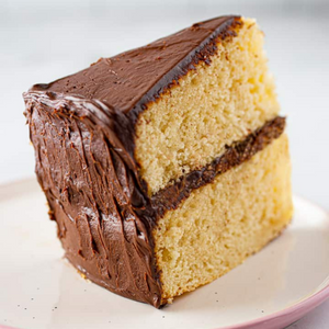Yellow Cake w/ Chocolate Frosting