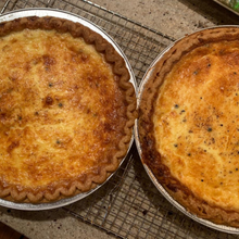 Load image into Gallery viewer, Deep Dish Gruyere Cheese Quiche