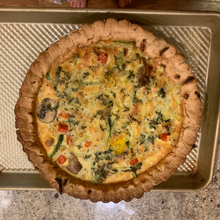 Load image into Gallery viewer, Veggie Quiche ~ From the Freezer