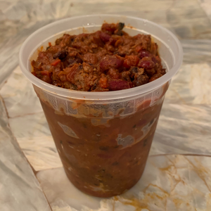 Classic Beef Chili ~ From the Freezer