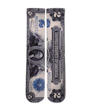 Load image into Gallery viewer, Money Print 2 Dollar Bill crew socks - DopeSoxOfficial