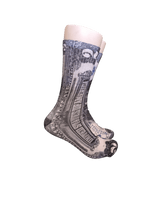 Load image into Gallery viewer, Money Print 2 Dollar Bill crew socks