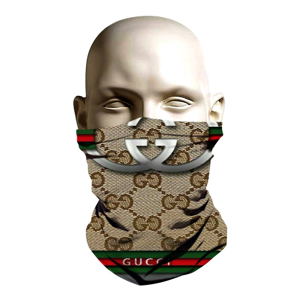 Face Mask - Gucci Logo Design