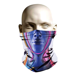 Face Mask - Future Robot Chick design