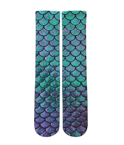 Mermaid customized elite socks - DopeSoxOfficial