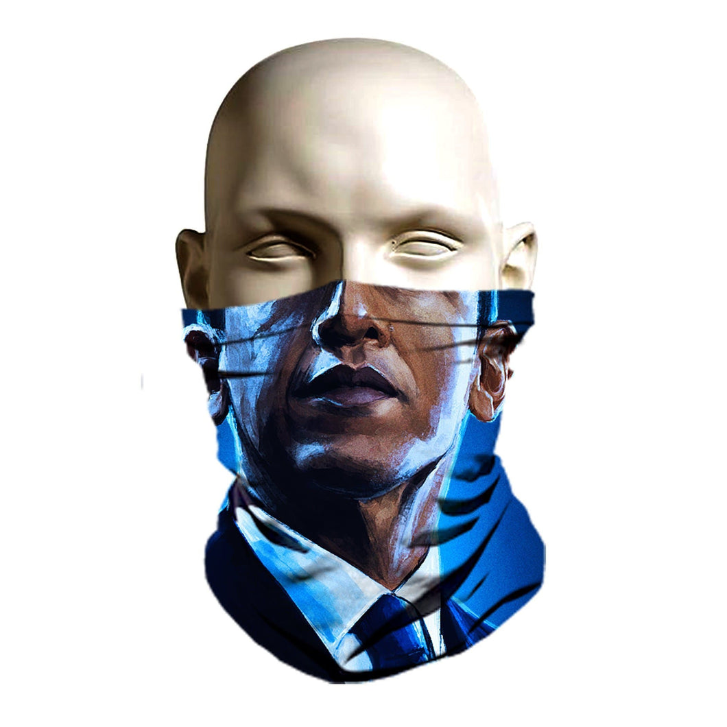 Ski Mask face shield - Barack Obama design