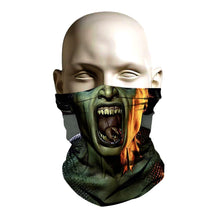 Load image into Gallery viewer, Ski Mask face shield - Evil Medusa design