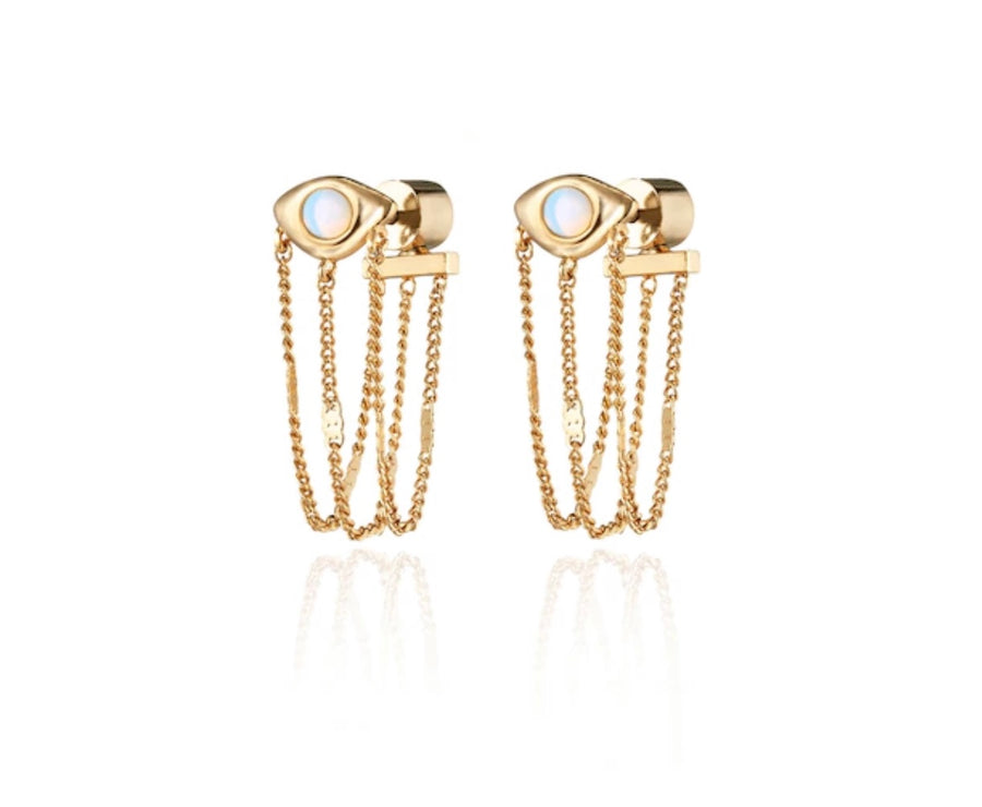 JB Veaux Drape Earrings