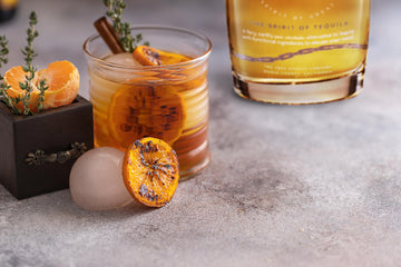 Non-alcoholic cocktail recipe: Tangerine Thyme!