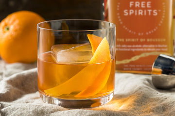 NON-ALCOHOLIC RECIPE: The Fashion Forward (A modern take on the Old Fashioned)