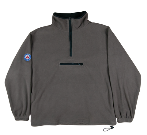 Micro Fleece 1/4 Zip Coffee