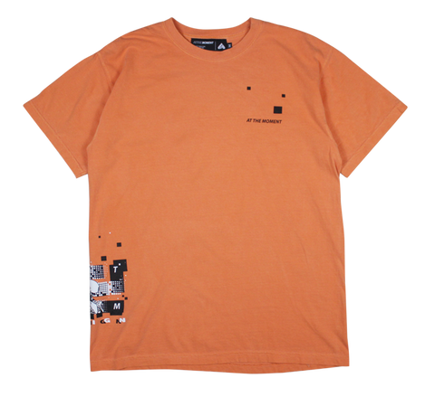 D9 Tee Burnt Orange