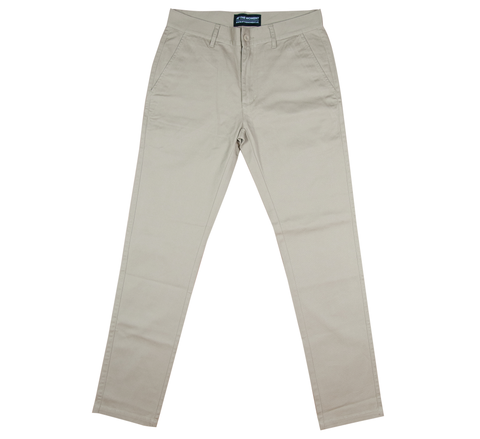 Cotton Twill Chino Pants Khaki