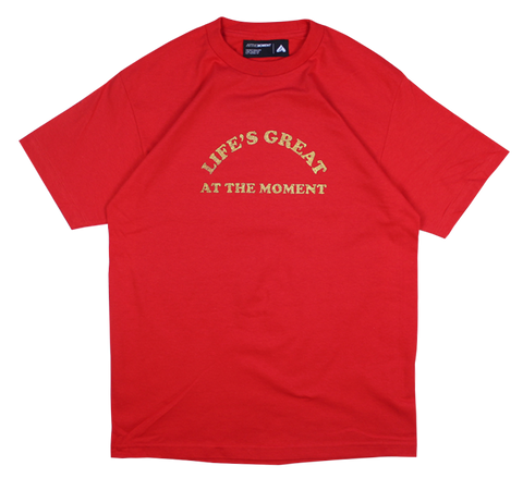 Life's Great Tee Red