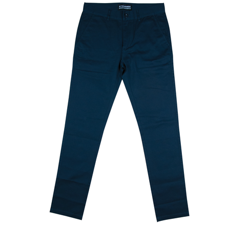 Cotton Twill Chino Pants Navy