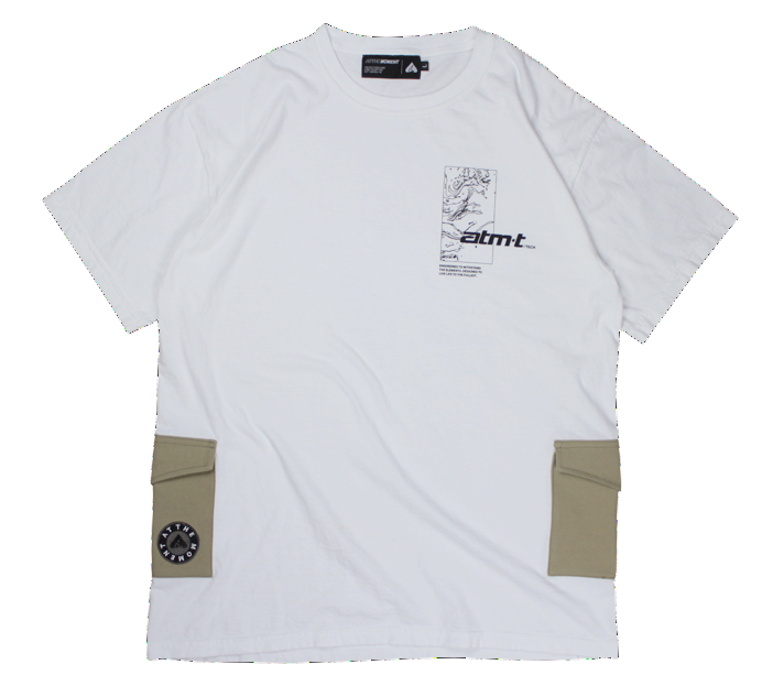 Pocket Tee White