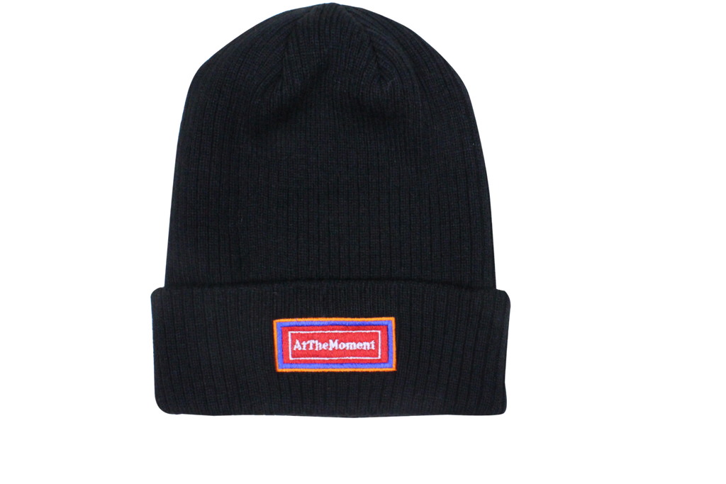 Re-Badge Beanie Black