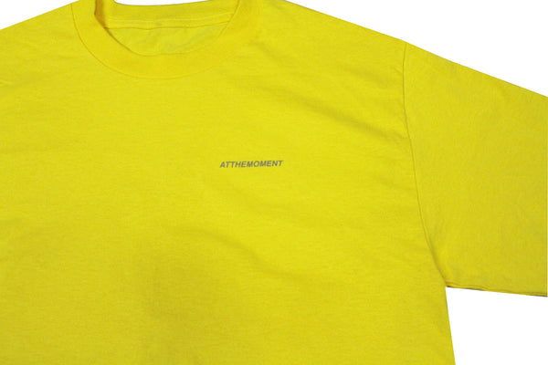 Reflective Logo Tee Yellow