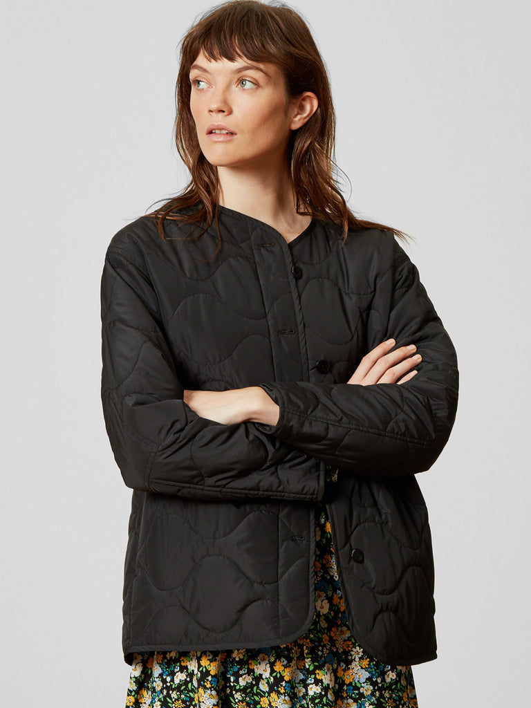 Alley Quilted Jacket Black