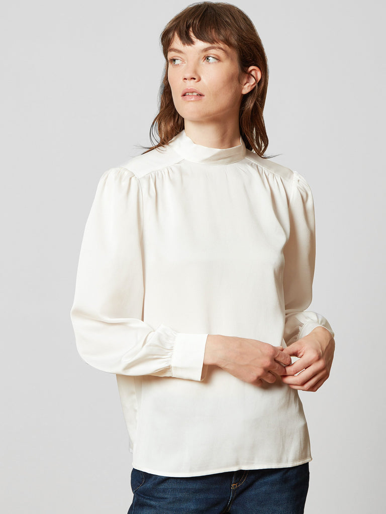 Amy Bow Back Blouse