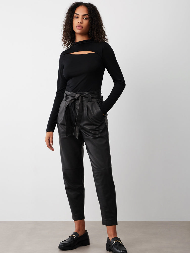 Belinda Leather Trouser