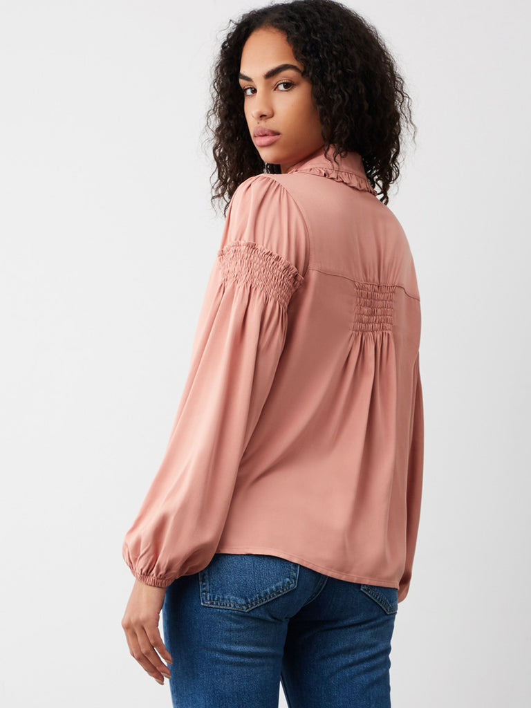 Brooke Frill Collar Shirt