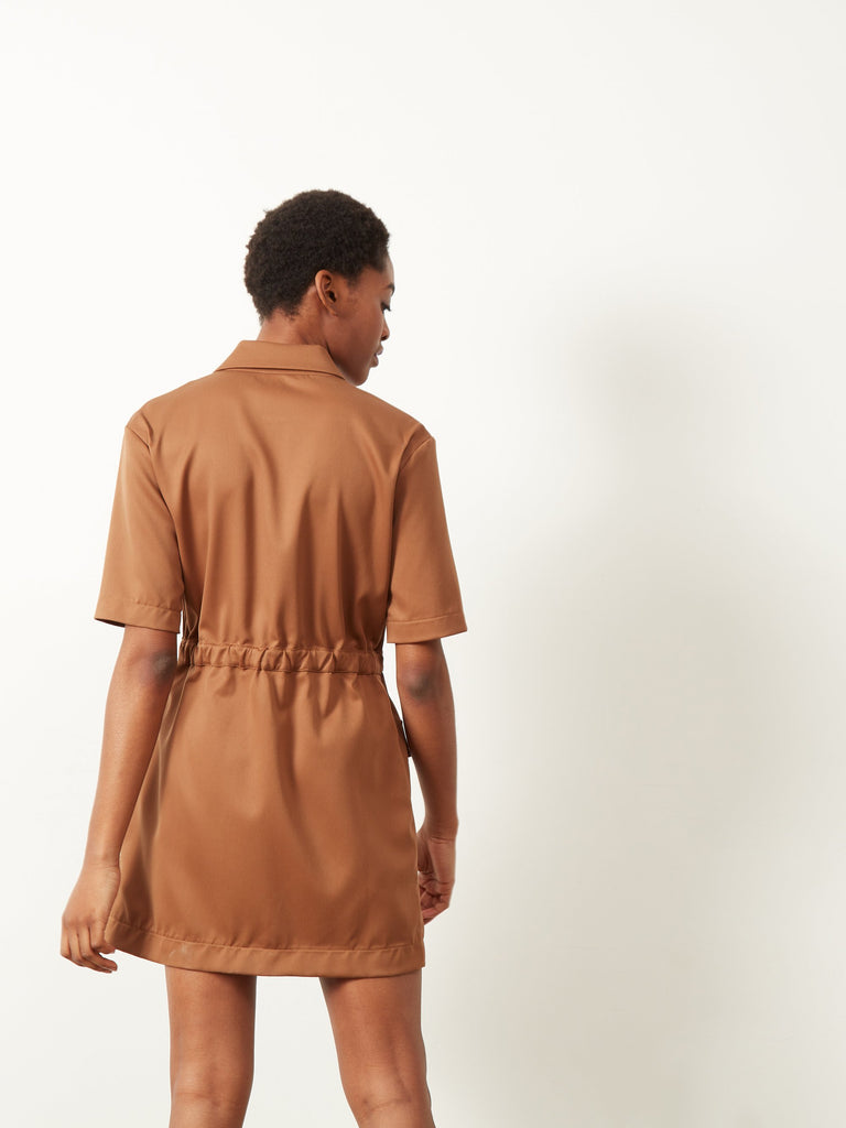 Caledonia Shirt Dress Copper