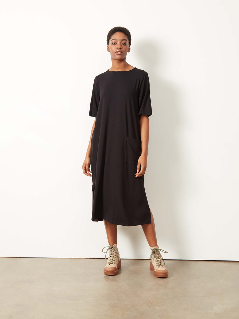 Cenni T-Shirt Dress Black