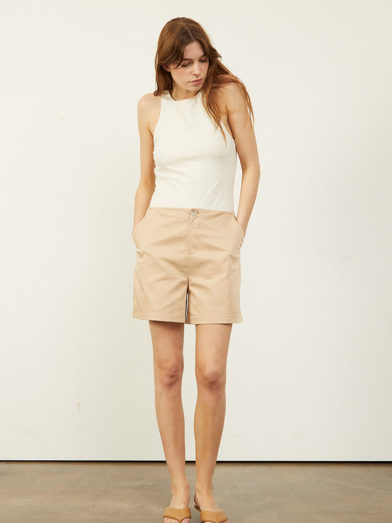 Cagney Tailored Smart Short Stone