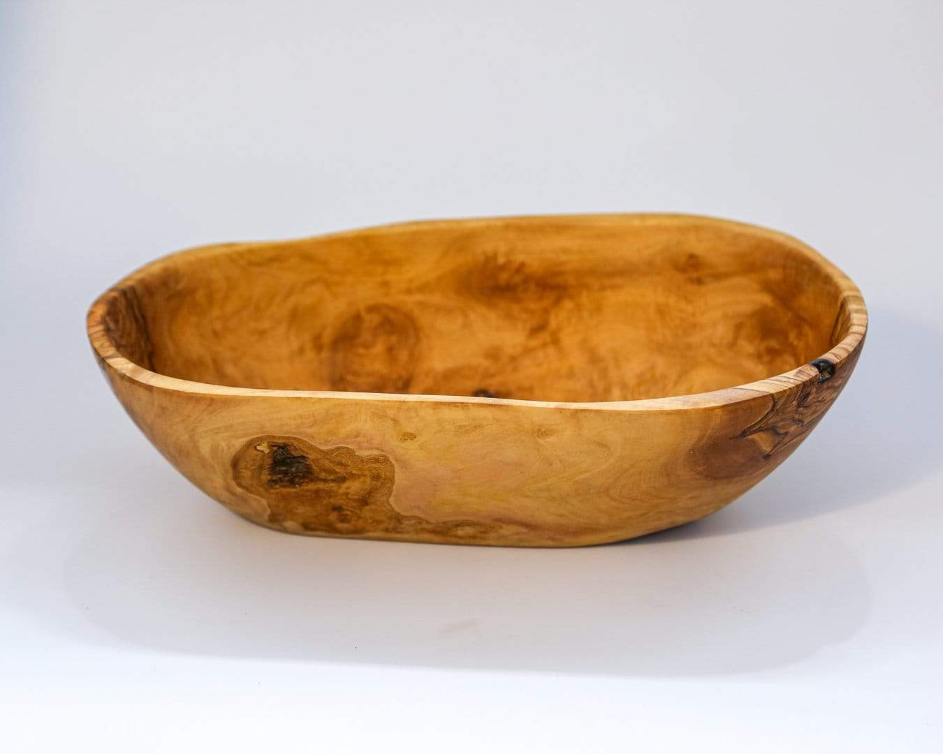 Shams El Balad Tableware Olive Wood Bowl