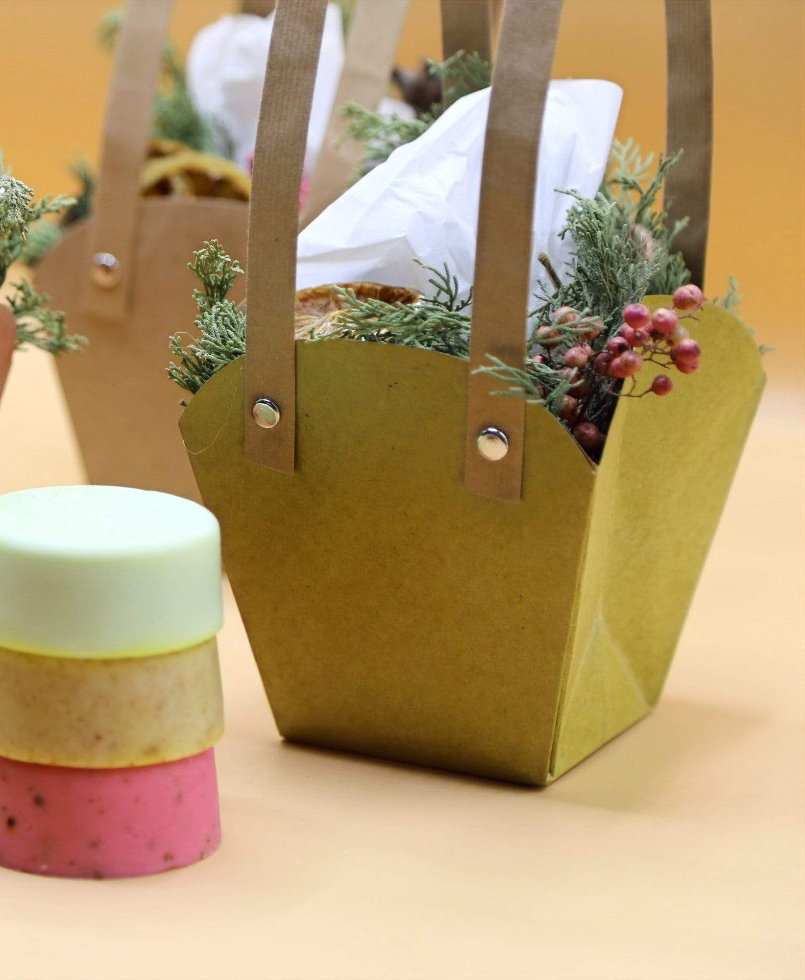 Shams El Balad Wellness Trio Soap Gift Bag