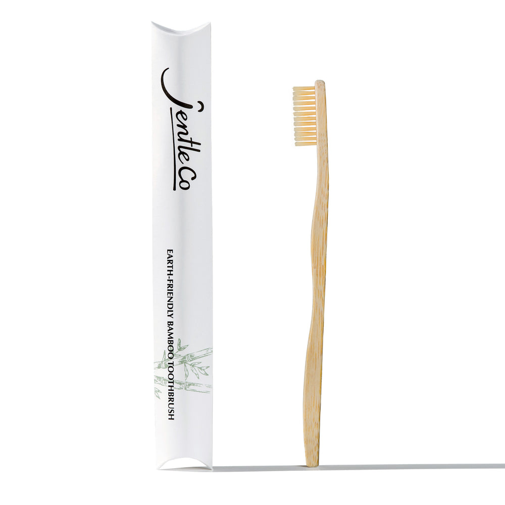 Bamboo Toothbrush with Soft Tapered Bristles