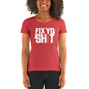 FYS - Ladies' short sleeve t-shirt