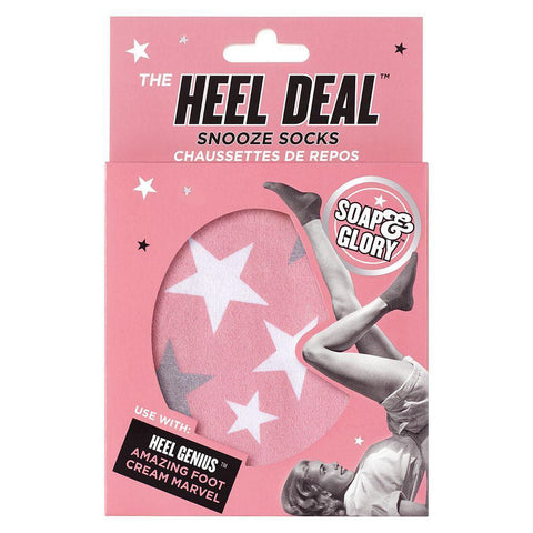 Soap & Glory The Heel Deal Snooze Socks