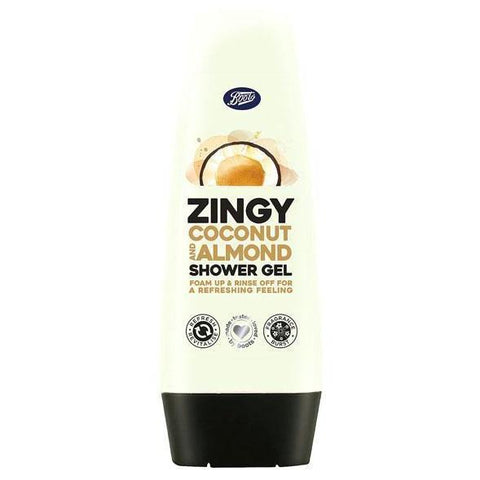 Boots Zingy Coconut & Almond Shower Gel 250ml